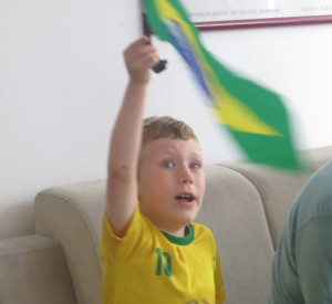 An American stricken with Brazil Fever