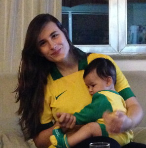 Actual Brazilians with Brazil Fever
